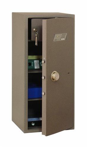 SafeTronics NTR 100 ME kulcs+elektronikus Tűzálló Bútorszéf