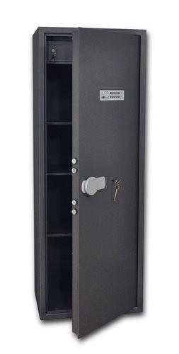 SafeTronics TSS 160 ME kulcs+elektronikus Tűzálló Páncélszekrény