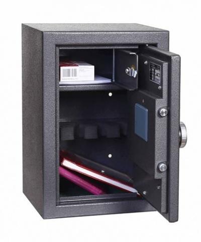 SafeTronics MINI 4 ME  kulcs+elektronikus Pisztolytároló Széf