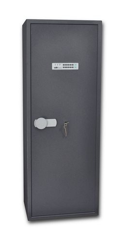 SafeTronics TSS 160 ME K3 kulcs+elektronikus Tűzálló Fegyverszekrény