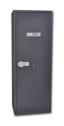 SafeTronics TSS 160 ME K5 kulcs+elektronikus Tűzálló Fegyverszekrény