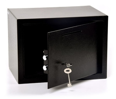 King Safe Tabac 25 K kulcsos Bedobónyílásos Bútorszéf