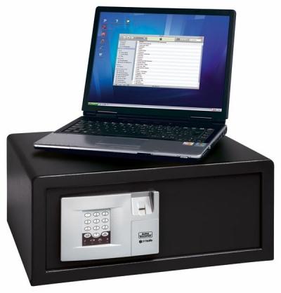 Burg Wachter Point Safe P 3 FS Lap ujjlenyomatolvasós Laptop Széf