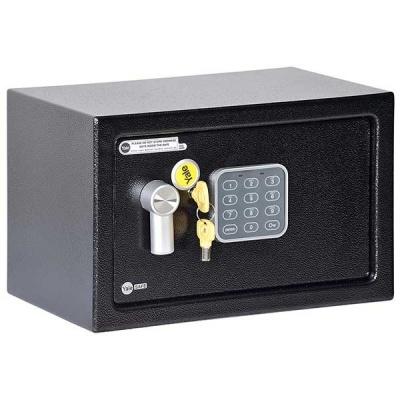 Yale - Value Home YSV 250 fekete - széf elektronikus zárral
